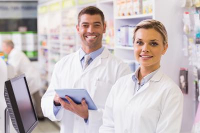 team of pharmacists